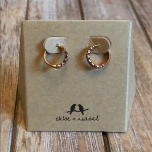 Chloe + Isabel petits bijoux hinged Earrings